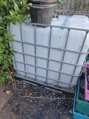 Ibc 1000 Litre Storage Container Tank • 40£