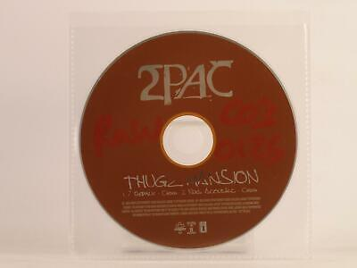 2PAC THUGZ MANSION 2 Track Promotional CD Single Plastic Sleeve INTERSCOPE • 2.29£