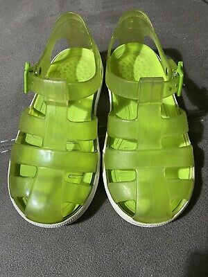 Green IGOR Jelly Sandals Shoes Size 27/ 9.5 • 7£