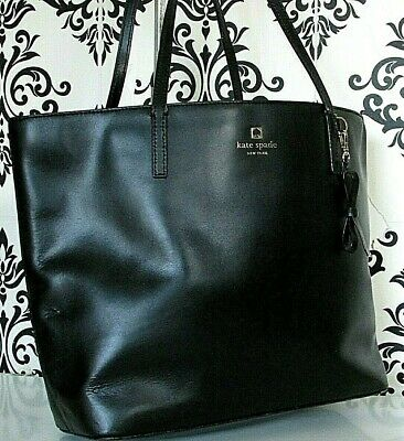 $ CDN18.52 • Buy Large Kate Spade Real Leather Shoulder Satchel Shoulder Tote Handbag/purse