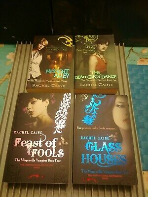 £6 • Buy Collection Of 4 Books By Rachel Caine - Morganville Vampire Books 1-4 In Series
