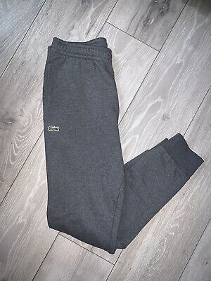Mens Grey Lacoste Joggers/ Tracksuit Bottoms  • 29.99£