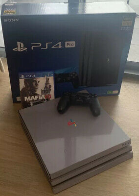 AU399.95 • Buy Sony PlayStation PS4 Pro 1TB Gaming Console With Mafia 3 Game