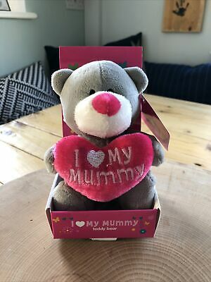 I Love My Mummy Bear In Box • 1£
