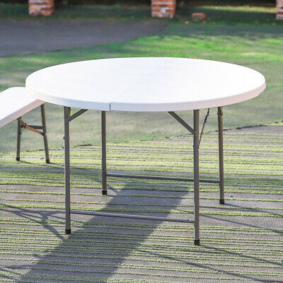 £45.95 • Buy 4/5/6 FT Folding Table/Bench Portable Camping Garden Party Caravan Catering BBQ