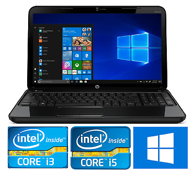 CHEAP Fast Laptop Intel Core I5 4GB/8GB RAM 500GB/240GB SSD WiFi Win10 Warranty • 179.99£