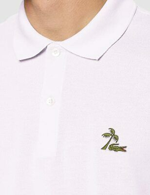 Lacoste Men's Regular Fit Polo Shirt Limited Edition Badge Size 7 XXL RRP £110 • 59.99£