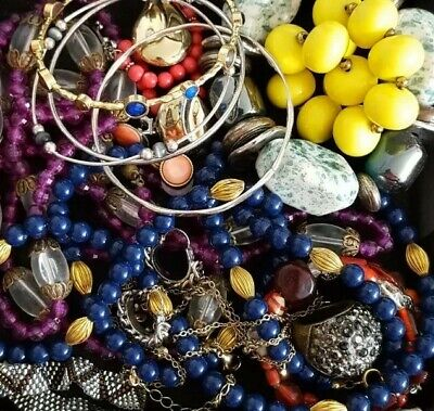 $ CDN32.93 • Buy Vintage Now Unsearched Untested Junk Drawer Jewelry Lot Estate All Wear L613