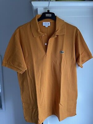 Lacoste Polo Shirt Mens T Shirt Size 4 Medium • 8£