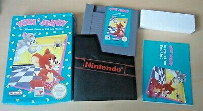 £20.99 • Buy Tom & Jerry The Ultimate Game Of Cat And Mouse Nintendo NES GAME UK PAL COMPLETE