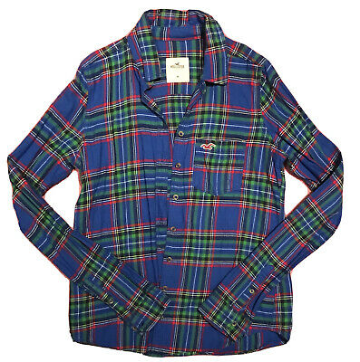 £7.25 • Buy Hollister Button-Up Checked Shirt Size M