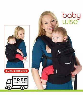 £14.95 • Buy Baby Wise Baby Carrier Backpack (new) Ergonomic Strong Breathable Adjustable