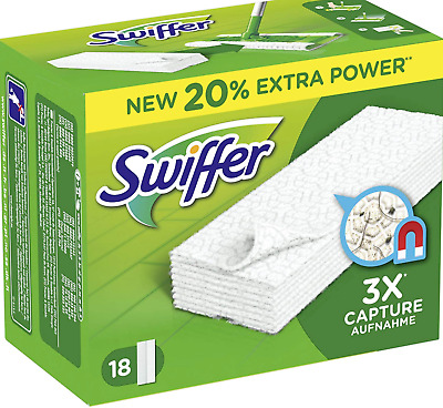 Swiffer Floor Dusters Refill Floor Wipes 22 • 10.99£