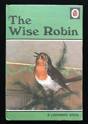 Vintage Ladybird Book - THE WISE ROBIN - Series 497 15p C1970 • 7.99£