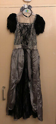 Halloween Dress Up Outfit Corpse Bride Zombie Age 11-13 • 15£