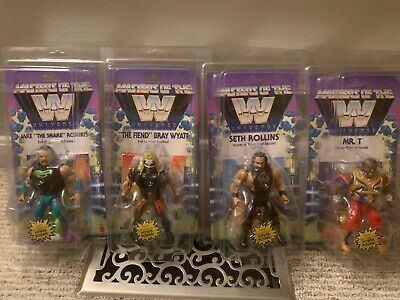 $48 • Buy Masters Of The Wwe Universe In Protectors Unopened!