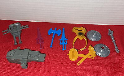 $10.50 • Buy 11 Piece Lot-Vintage 1980's He-Man MOTU Weapons & Shield Masters Of The Universe
