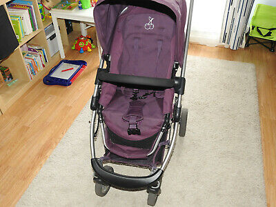 ICandy Cherry Carrycot / Single Seat Pushchair Stroller Pram Buggy Travel System • 125£
