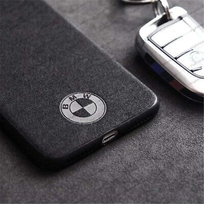 BMW Emblem Logo IPhone Case Faux Suede Alcantara Sports Car Cover FAST DELIVERY! • 9.99£