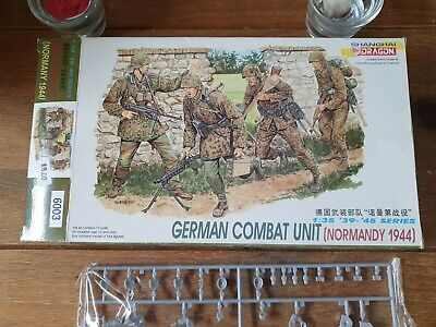 Dragon 1/35 German Combat Unit • 16.99£