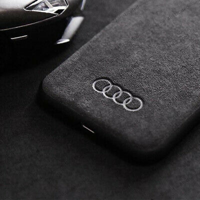 Motorsport Rings Logo Faux Suede Alcantara Car IPhone Case Cover FAST DELIVERY! • 8.69£
