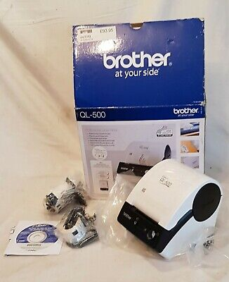 Brother QL-500 Label Thermal Label Printer (NEVER BEEN USED) • 23£