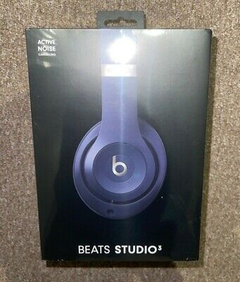 Beats By Dr Dre Studio 3 Wireless - Blue 2021 Version Unopened  • 240£