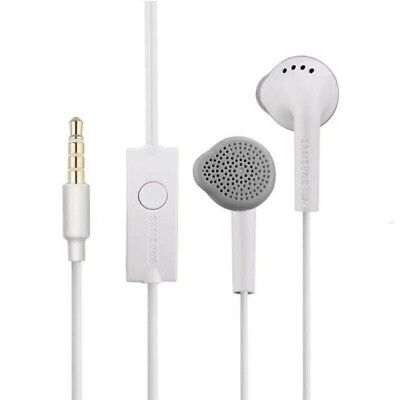 $ CDN4.37 • Buy Genuine Samsung Handsfree Headphones Earphones With Mic EHS61ASFWE White Black