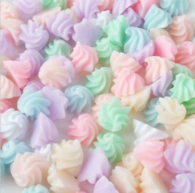 Cutest Ever Fake Whipped Cream Swirl Food Candy Pastel Mix Kawaii Resin UK 20 Pc • 4.99£