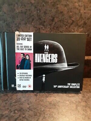 The Avengers.Complete 50th Anniversary Collection (DVD, 2011, 39-Disc Set) • 100£