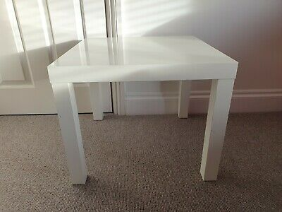 Side Table End Display 55cm Square Small Coffee Table Office Bedroom IKEA LACK  • 0.99£
