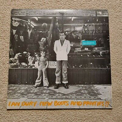 Ian Dury And The Blockheads - LP New Boots And Panties Orig UK 1977  Gold Vinyl • 4.20£