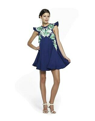 AU53 • Buy Alice McCall Rutile Sapphire Blue Embroidered Dress AUS 10 / USA 6 / EUR 38