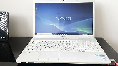 Sony Vaio WINDOWS10 Pro Laptop  I3 Quad Core 2.13GHz 3Gig Ram 15.6 WebCam WIfi • 189£