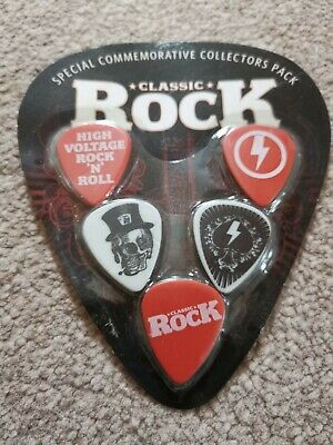 $ CDN8.52 • Buy Classic Rock Magazine Set Of 5 Guitar Picks