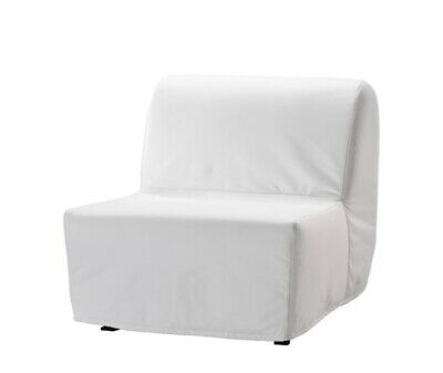 IKEA LYCKSELE Chair-bed SPARE COVER  Ransta White NEW  • 45£