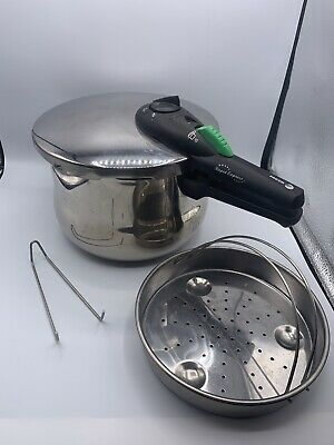 £28.32 • Buy Fagor Rapid Express 6L Stainless Steel Pressure Cooker EUC