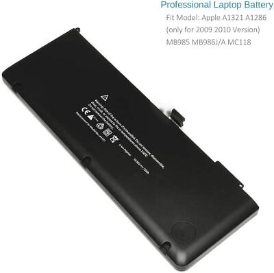 $34.99 • Buy Battery Replacement For Apple A1321, A1286 Mac Pro 15
