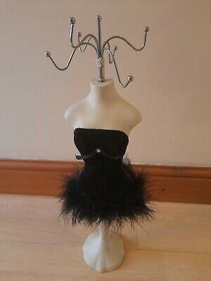 M&s Black Mannequin Lady Accessory/jewellery Stand • 5£