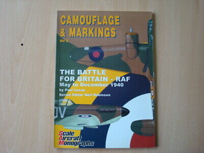 £19.95 • Buy Camouflage & Markings No.2 The Battle For Britain RAF May-Dec 1940 Lucas(SIGNED)