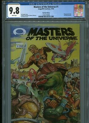 $169.95 • Buy Masters Of The Universe #1  (Gold Foil)  CGC 9.8  WP