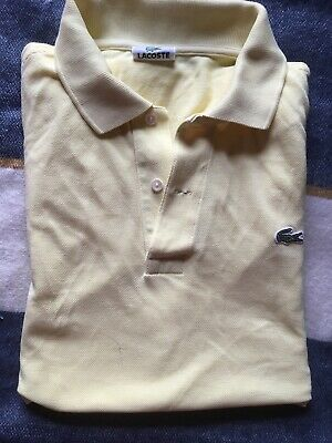 Mens Lacoste Polo Shirt Size 5 • 5£