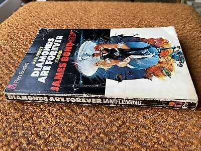 Vintage Diamonds Are Forever 24th 1971 PAN  Ian Fleming James Bond • 4.80£