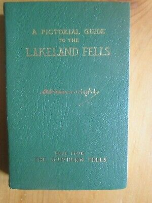 A Wainwright A Pictorial Guide To The Lakeland Fells Book 4 The Southern Fells • 1.99£
