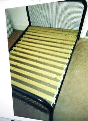Ikea Double Bed Frame 4ft X 6f 3  (small Double  Queen Size ) Wooden Slates  • 85£