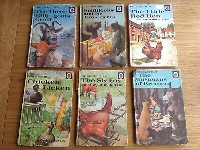 Vintage LADYBIRD Books - Well Loved Tales - 606D - Job Lot X6 • 18£