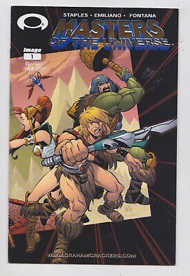 $19.99 • Buy Masters Of The Universe #1 Rare Graham Crackers Gold Wraparound Variant Cover