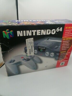 AU142.41 • Buy Nintendo 64 N64 Boxed Console Complete.. With Expansion Pak Pack