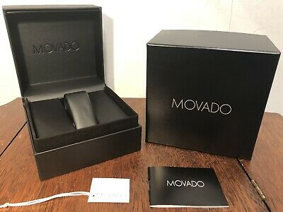 $ CDN12.61 • Buy NWT MOVADO Watch Presentation Gift Box Black