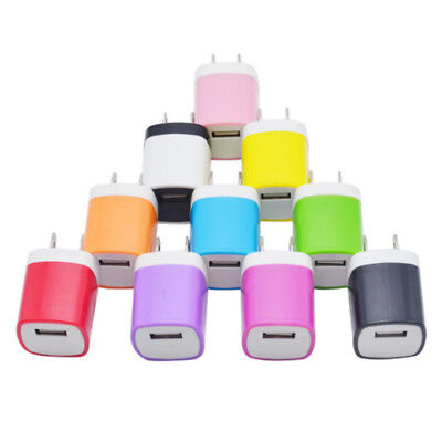 AU9.05 • Buy USB Plug Power Wall Charger Adapter Charging Head Home Travel 5V 1A  S*